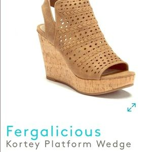 Wedge Sandals Sz. 8.5. New Never Worn